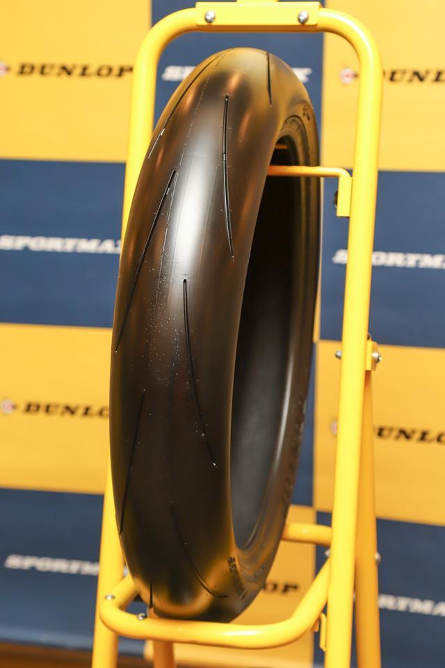 画像: α-13sp フロントタイヤ