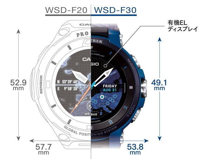 画像2: CASIO「PRO TREK Smart WSD-F30」です!