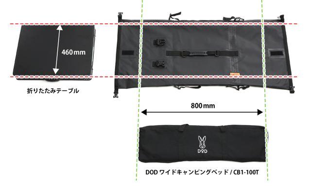 画像2: シンプルで積みやすい仕様と形状。雨の心配をすることなくガシガシ使えそう!