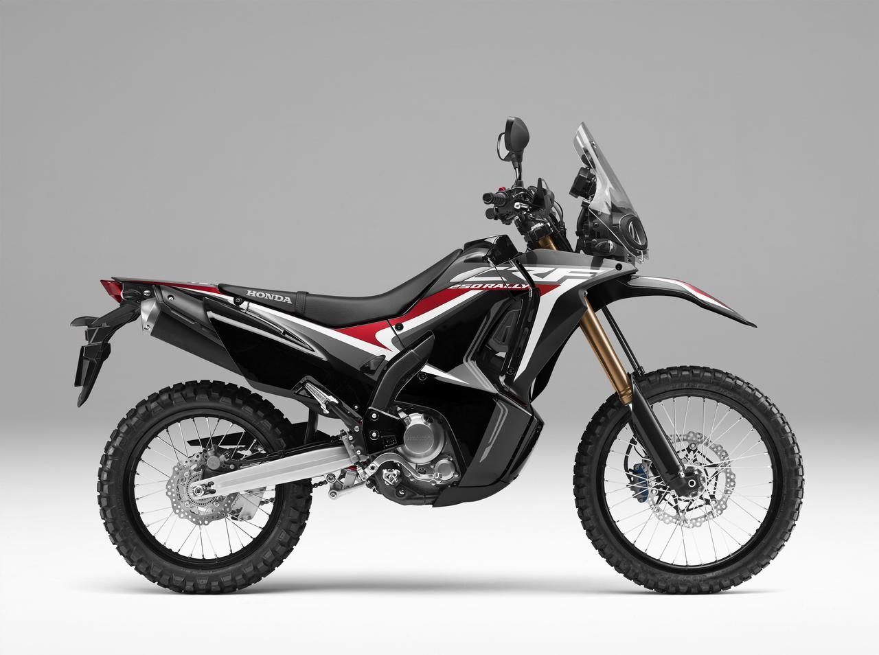 画像: HONDA CRF250RALLY(ブラック)■価格:70万2000円