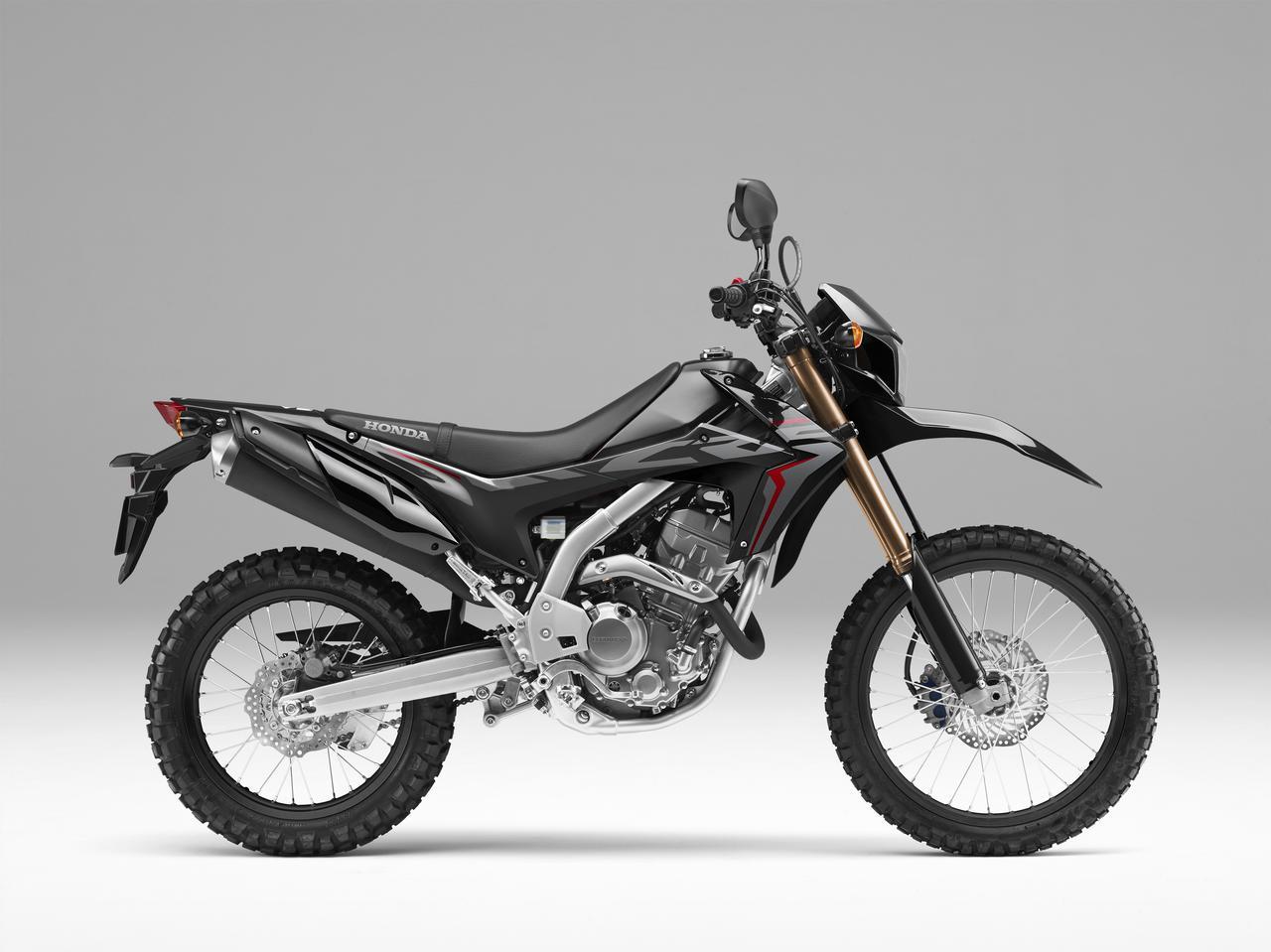画像: HONDA CRF250L(ブラック)■価格:49万7880円