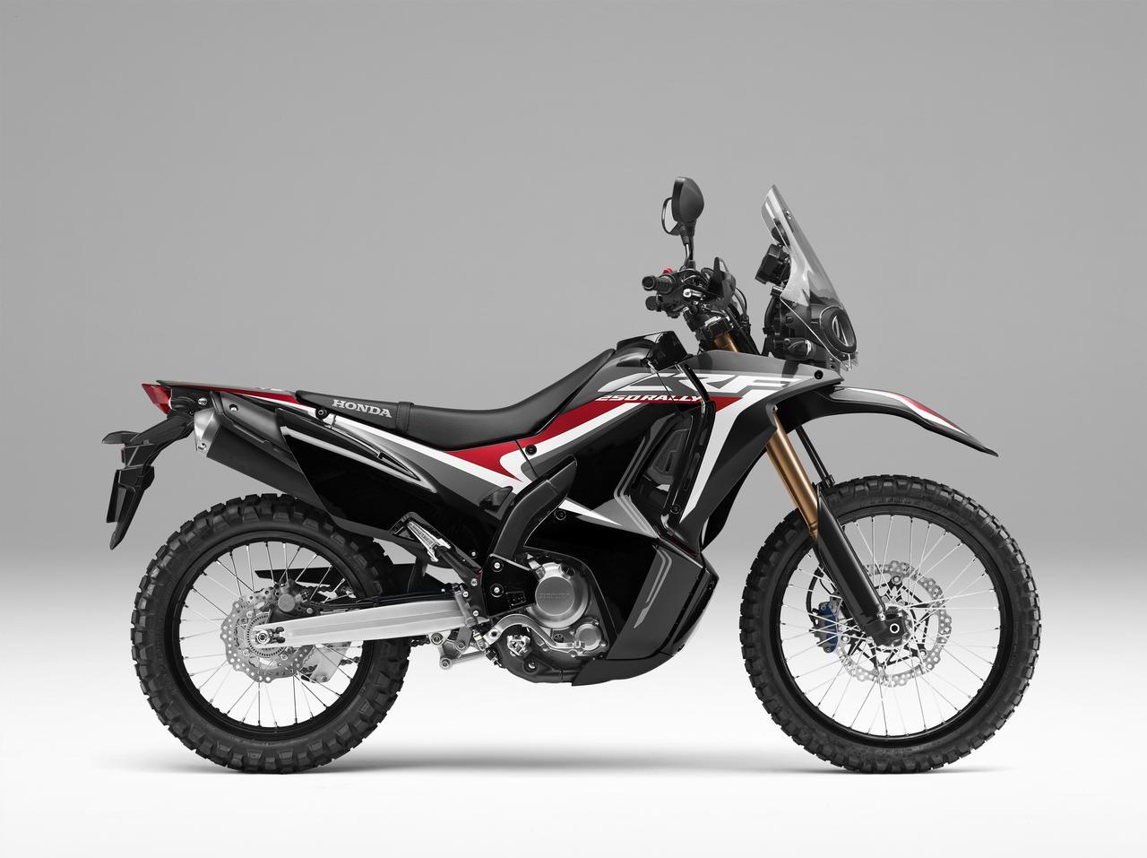 画像: HONDA CRF250RALLY Type LD(ブラック)■価格:70万2000円