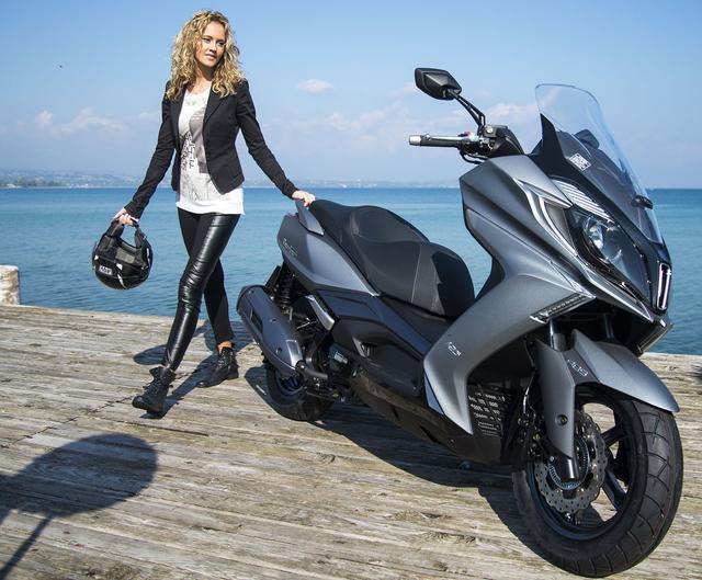 画像1: もっともラグジュアリーな125スクーターを目指して開発された意欲作的ニューモデル