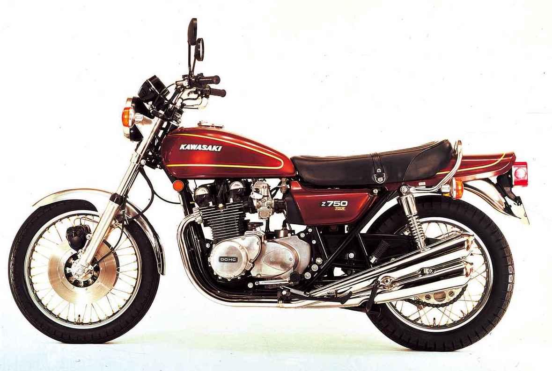 Images : 1976年4月Z750Four[Z750A4]