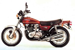 1976年4月Z750Four[Z750A4]