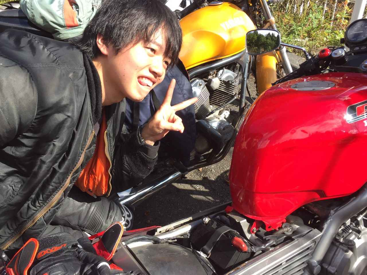 Images : 2番目の画像 - 「初心者多めで、トラブル多数?? 多摩美術大学バイクサークルの『RAC』です!」のアルバム - webオートバイ