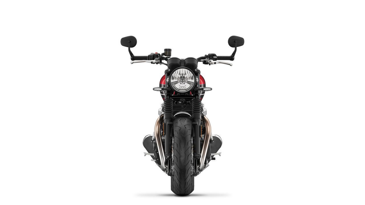 Images : 1番目の画像 - SPEED TWIN コロッシレッド×ストームグレイ - webオートバイ