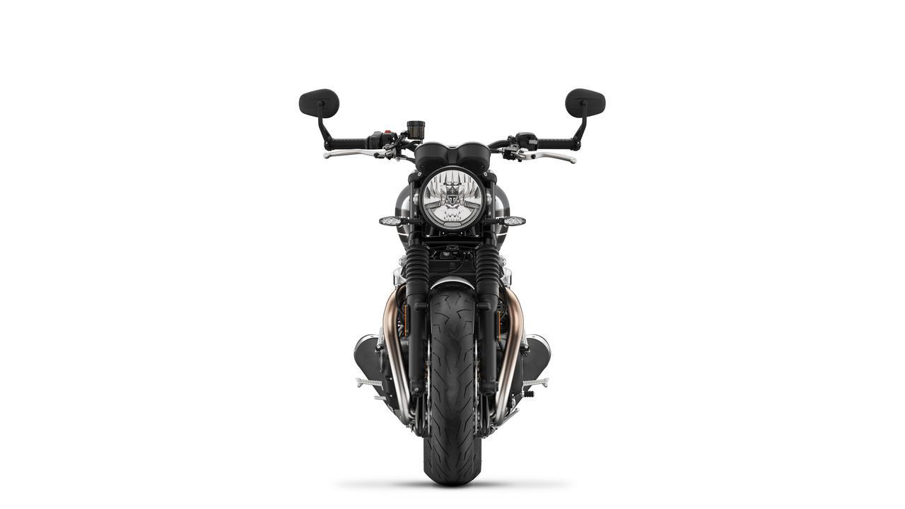 Images : 1番目の画像 - SPEED TWIN シルバーアイス×ストームグレイ - webオートバイ