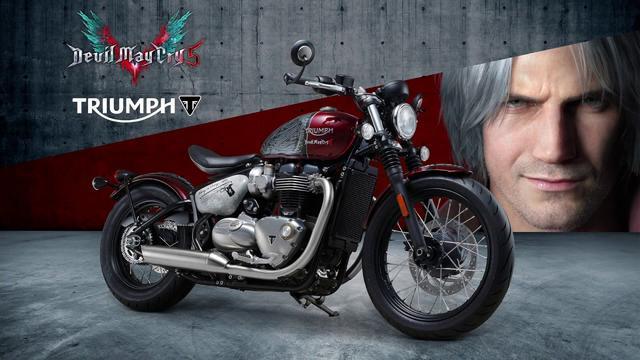 画像: Devil May Cry 5 X トライアンフ スペシャルコラボバイク紹介映像 youtu.be