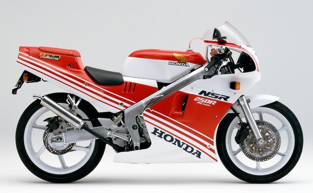 画像: HONDA NSR250R(1987年)