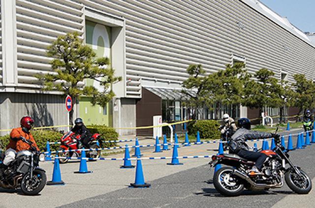 画像: そして、東京会場とのもっとも大きな特異点は、試乗会の有無。