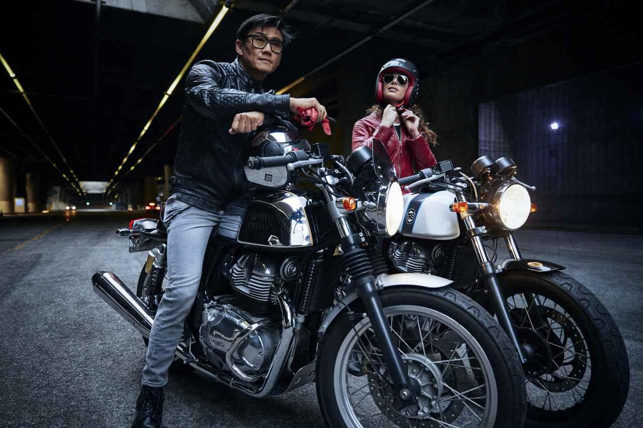 画像2: 648㏄の二気筒エンジンは、日本の道路環境にもマッチする!