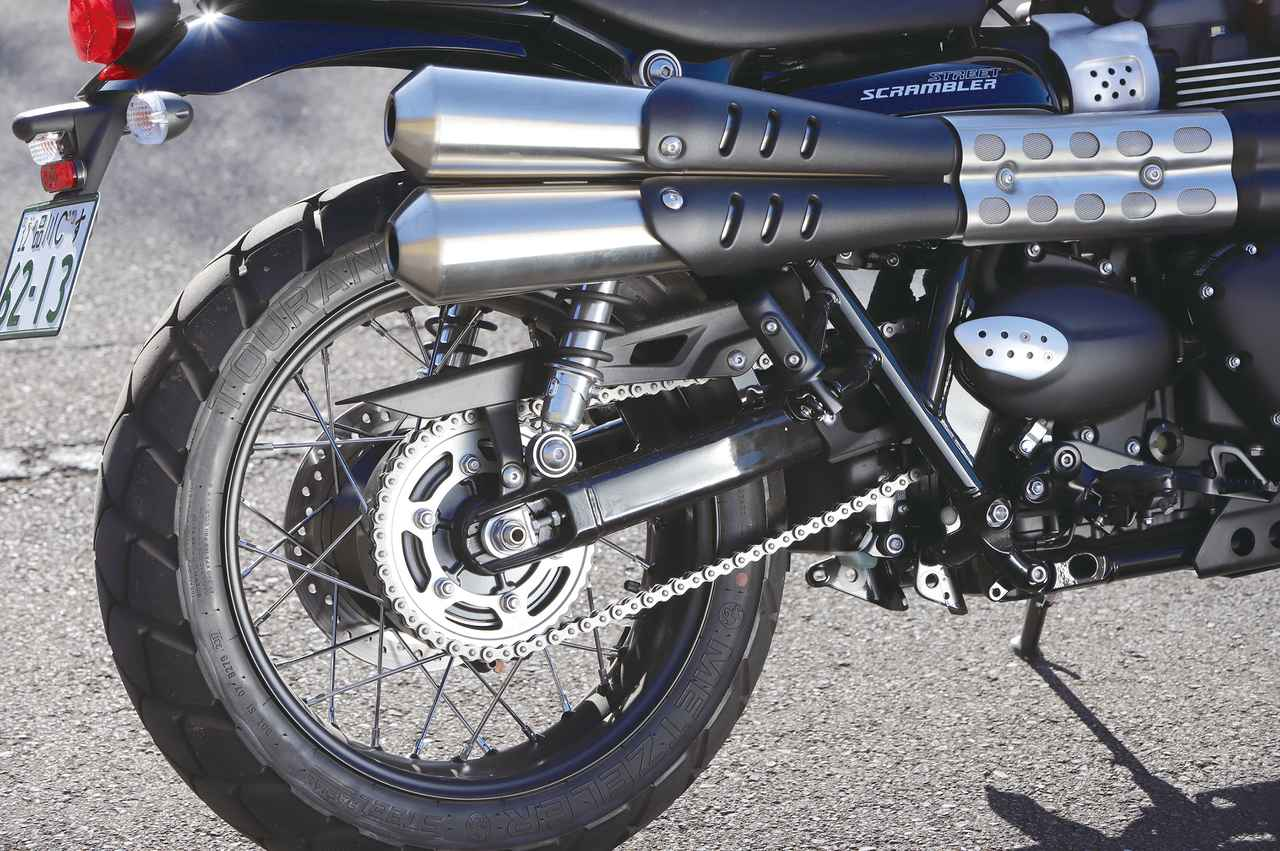 Images : 13番目の画像 - 「パワー増強と足回りの充実!『TRIUMPH STREET SCRAMBLER』#試乗インプレ」のアルバム - LAWRENCE - Motorcycle x Cars + α = Your Life.