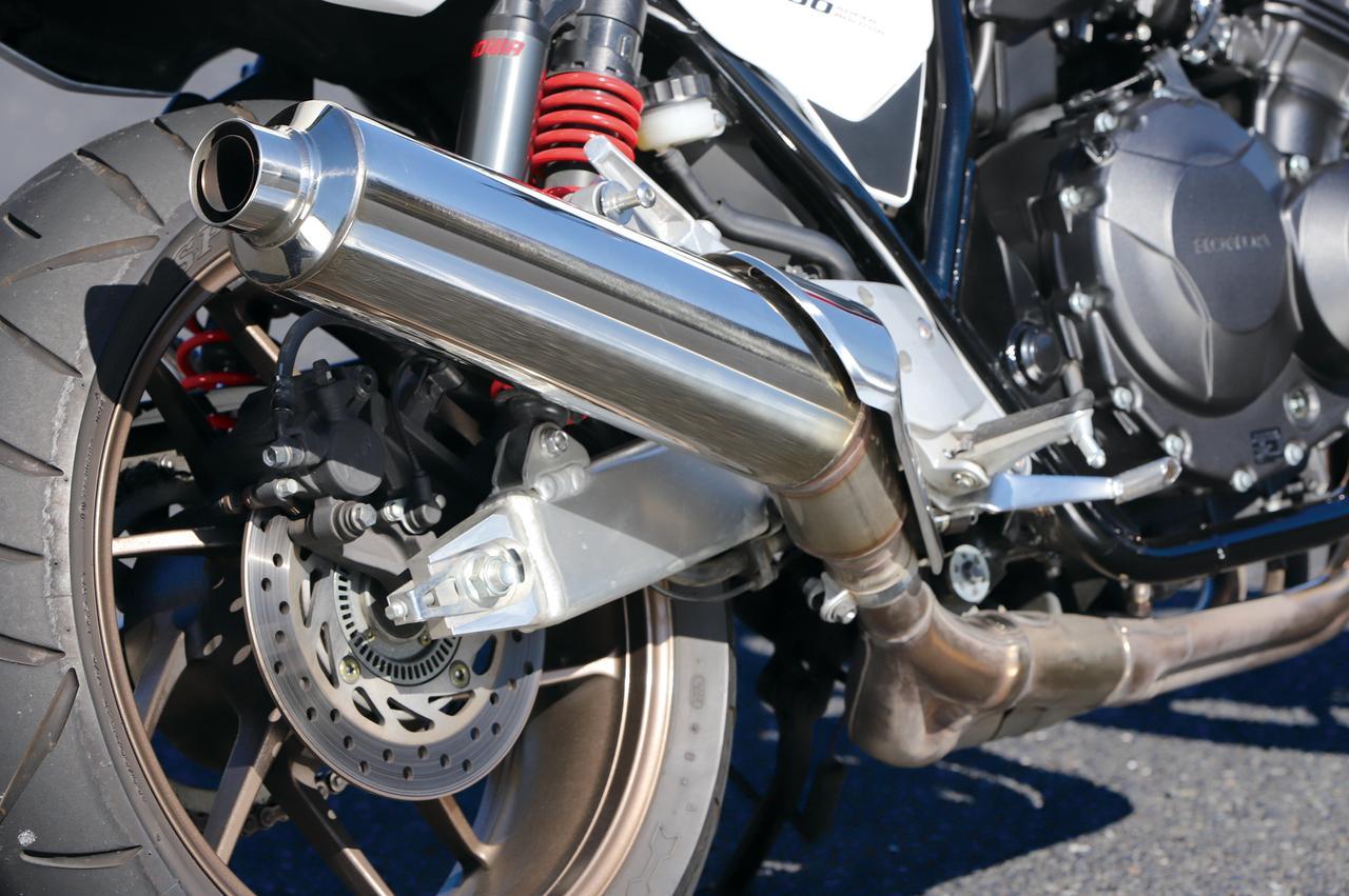 "Images : 7番目の画像 - 「世界に誇れる""最高のヨンヒャク""『HODNA CB400 SUPER FOUR/SUPER BOL D'OR』#CB THE ORIGIN」のアルバム - webオートバイ"