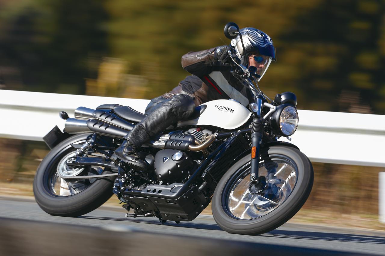 Images : 2番目の画像 - 「パワー増強と足回りの充実!『TRIUMPH STREET SCRAMBLER』#試乗インプレ」のアルバム - LAWRENCE - Motorcycle x Cars + α = Your Life.