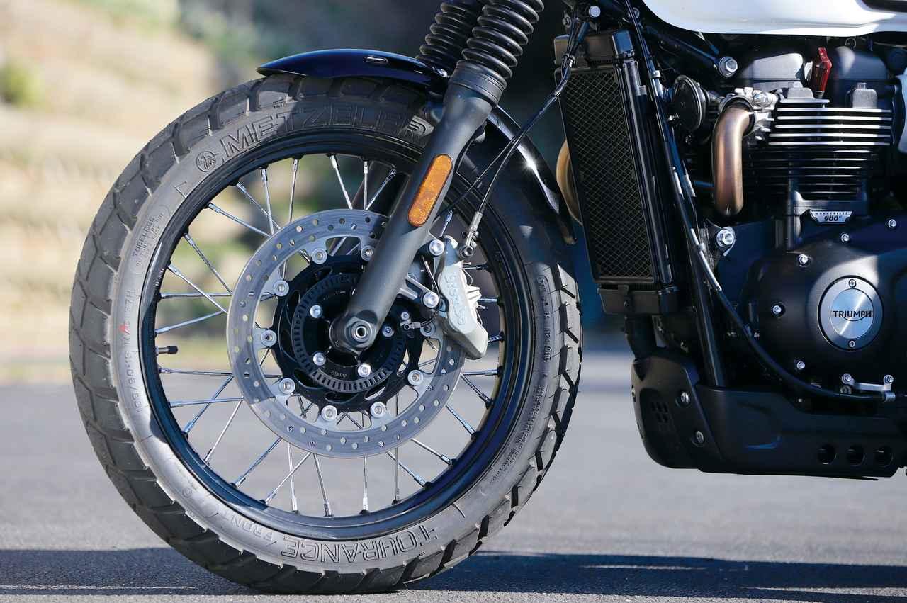 Images : 10番目の画像 - 「パワー増強と足回りの充実!『TRIUMPH STREET SCRAMBLER』#試乗インプレ」のアルバム - LAWRENCE - Motorcycle x Cars + α = Your Life.
