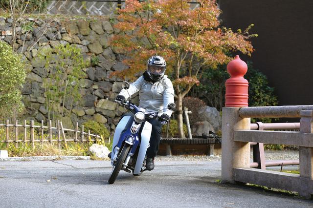 画像3: C125は質感が高くて「現代のスーパーカブ」 どこかスポーツバイク的なところが気に入りました