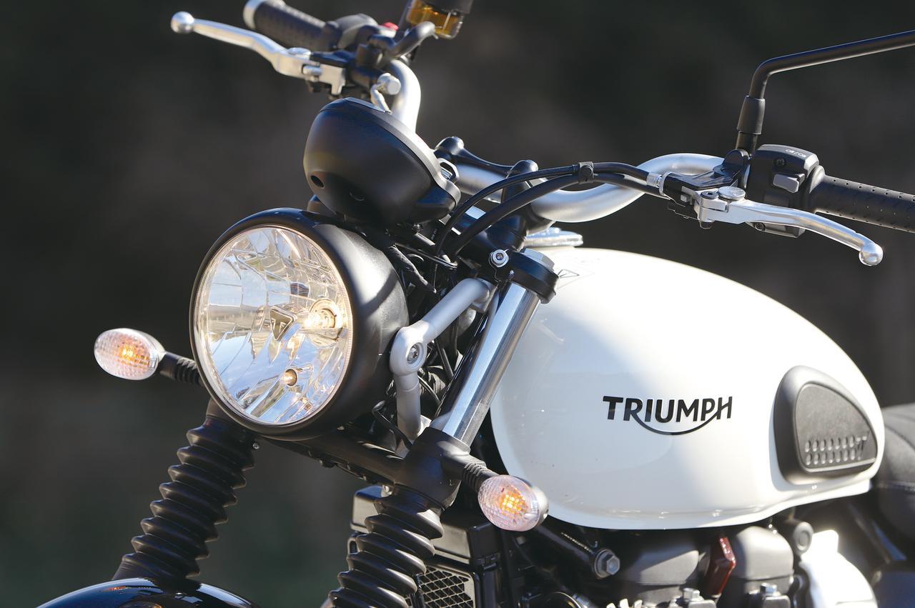 Images : 7番目の画像 - 「パワー増強と足回りの充実!『TRIUMPH STREET SCRAMBLER』#試乗インプレ」のアルバム - webオートバイ