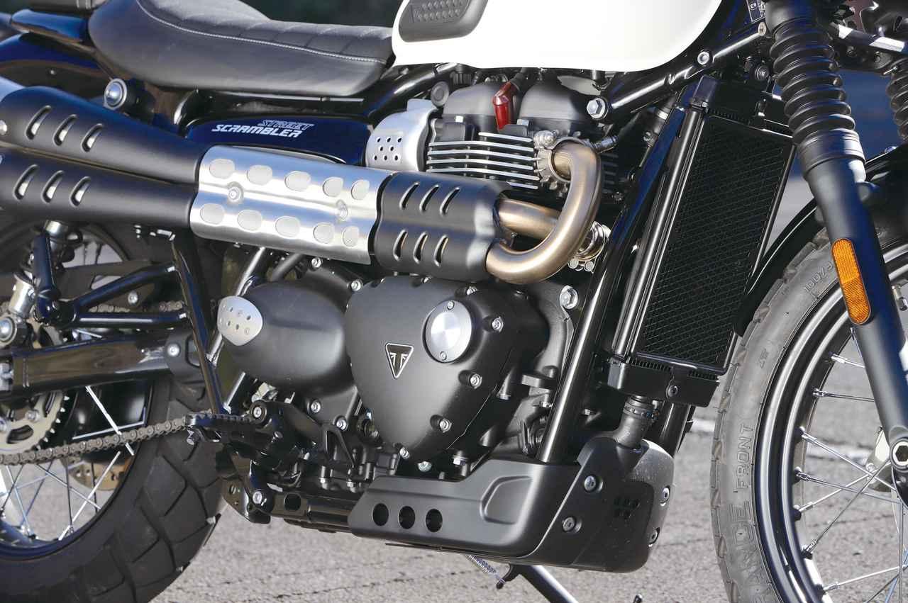 Images : 11番目の画像 - 「パワー増強と足回りの充実!『TRIUMPH STREET SCRAMBLER』#試乗インプレ」のアルバム - LAWRENCE - Motorcycle x Cars + α = Your Life.