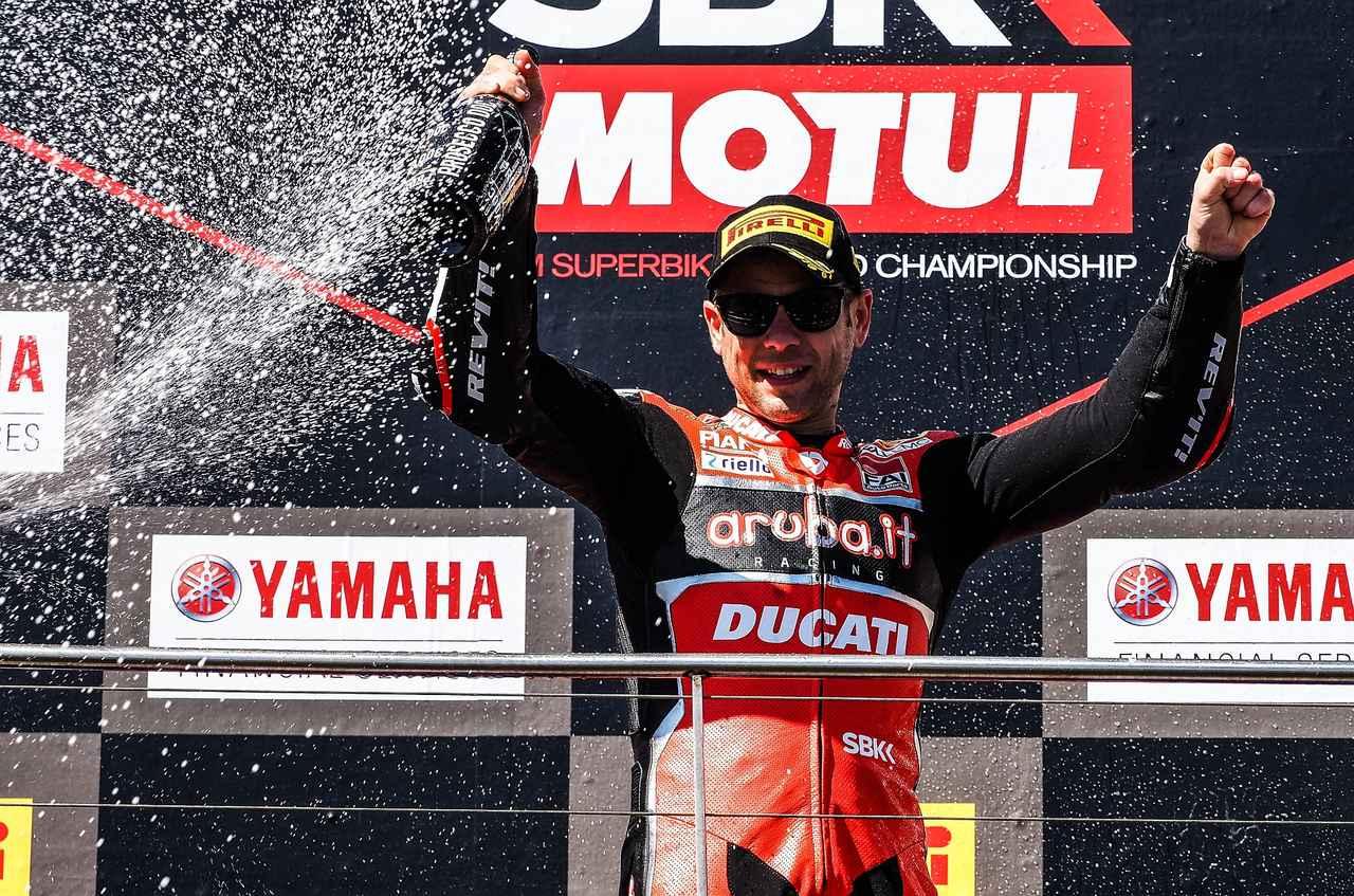 画像: 初戦で結果を出してホッとしたでしょう、バウティスタ 2009年のGP250(!)以来の優勝です