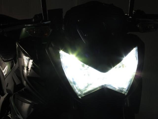 画像: 『Kawasaki '13~Z250とZ800のLoビームが両目点灯するLEDバルブ発売です。』