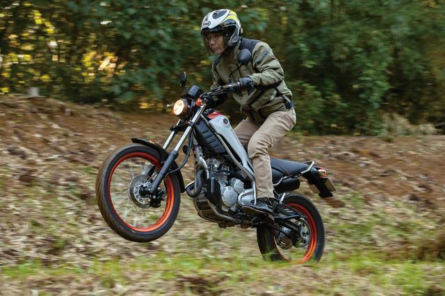 画像1: バイクを操ること自体を堪能できる楽しい相棒