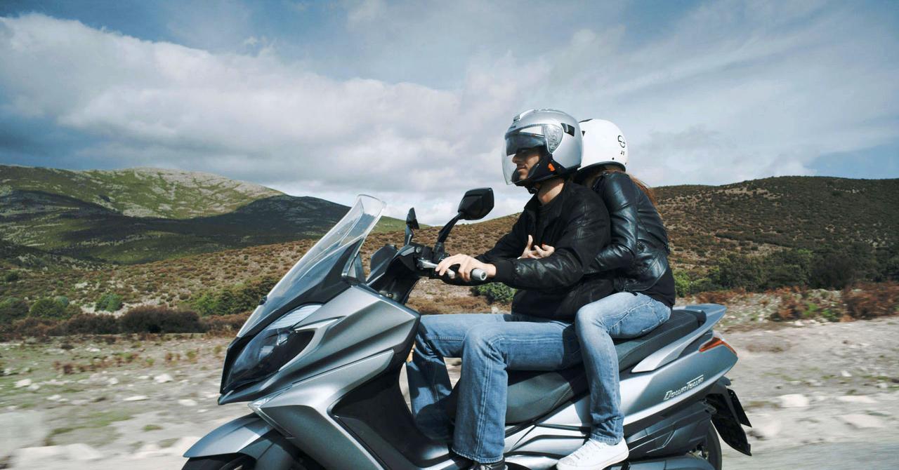 画像: 台湾メーカーのキムコは250㏄サイズにも負けない125ビッグスクーター「ダウンタウン125i ABS」を3月11日発売します
