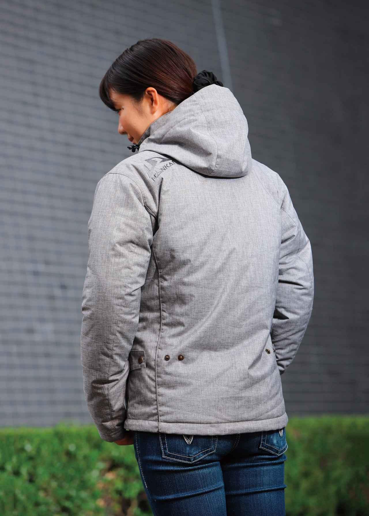 画像1: カジュアルパーカージャケットのデザインは秀逸