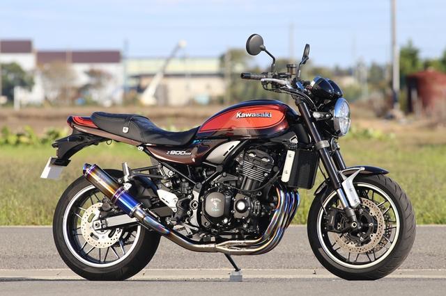 画像: Z900RS/CAFE Single Type|マフラー|アールズ・ギア[Fun to Ride]