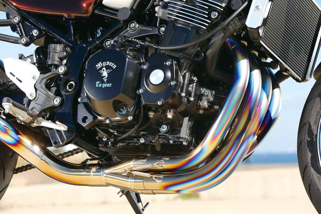 Images : 3番目の画像 - 「80年代ルックの超高品質フルエキ『WYVERN  クラシックRシングルアップタイプ Z900RS/Z900RS CAFE用フルエキゾーストシステム』」のアルバム - webオートバイ