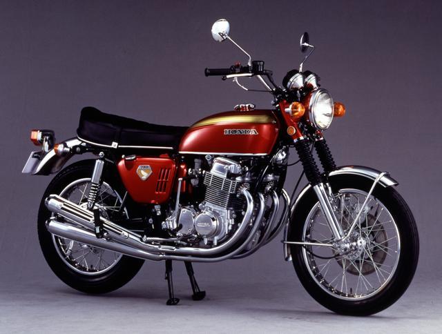 画像: Honda ドリームCB750FOUR('69)
