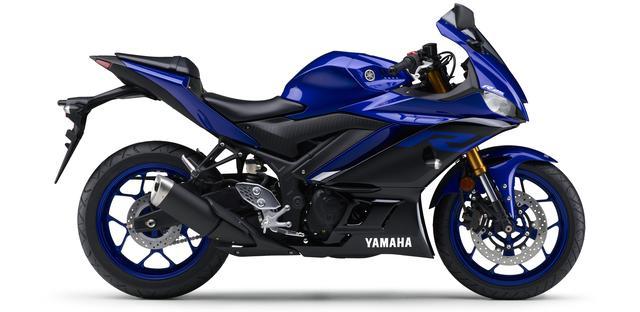 画像15: ヤマハ新型YZF-R25は3月28日発売開始! 「YZR-M1」を彷彿させるスポーティな外観に一新!