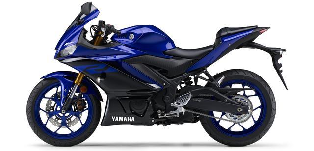 画像16: ヤマハ新型YZF-R25は3月28日発売開始! 「YZR-M1」を彷彿させるスポーティな外観に一新!