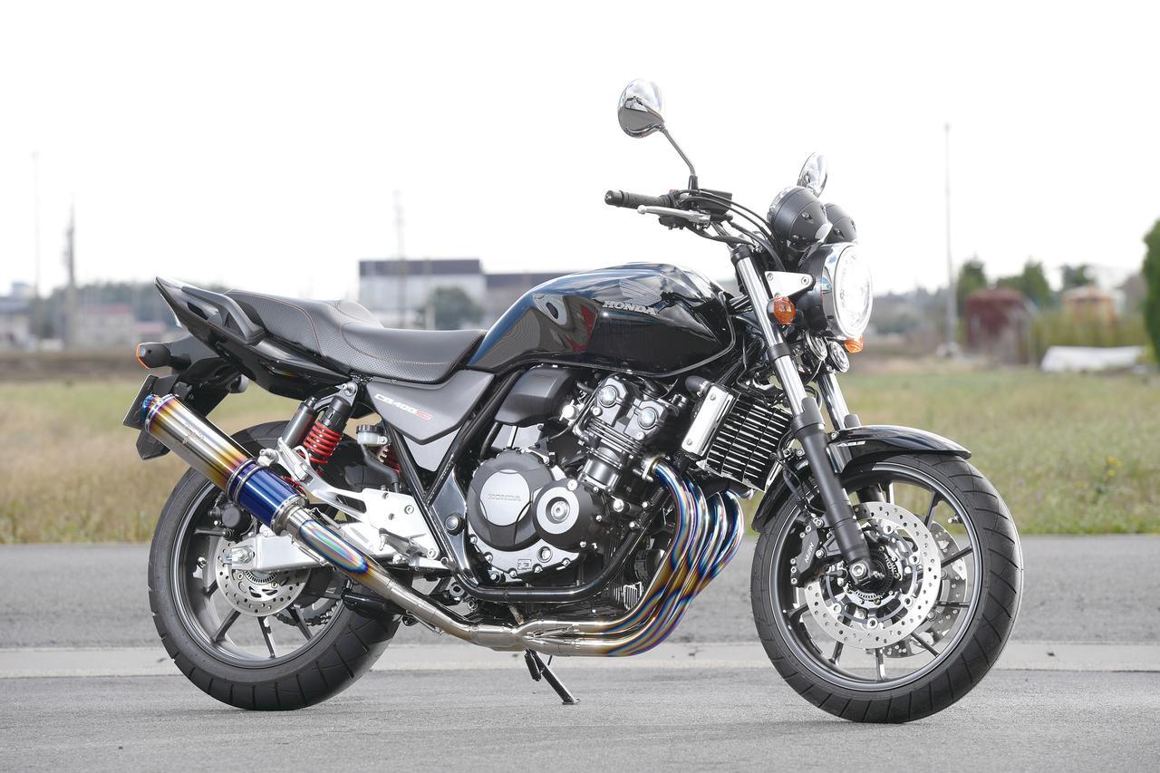 Images : 1番目の画像 - 「初代登場当時の人気デザインを再現『WYVERN Classic Titan クラシックチタン シングルタイプ フルエキゾースト』」のアルバム - webオートバイ