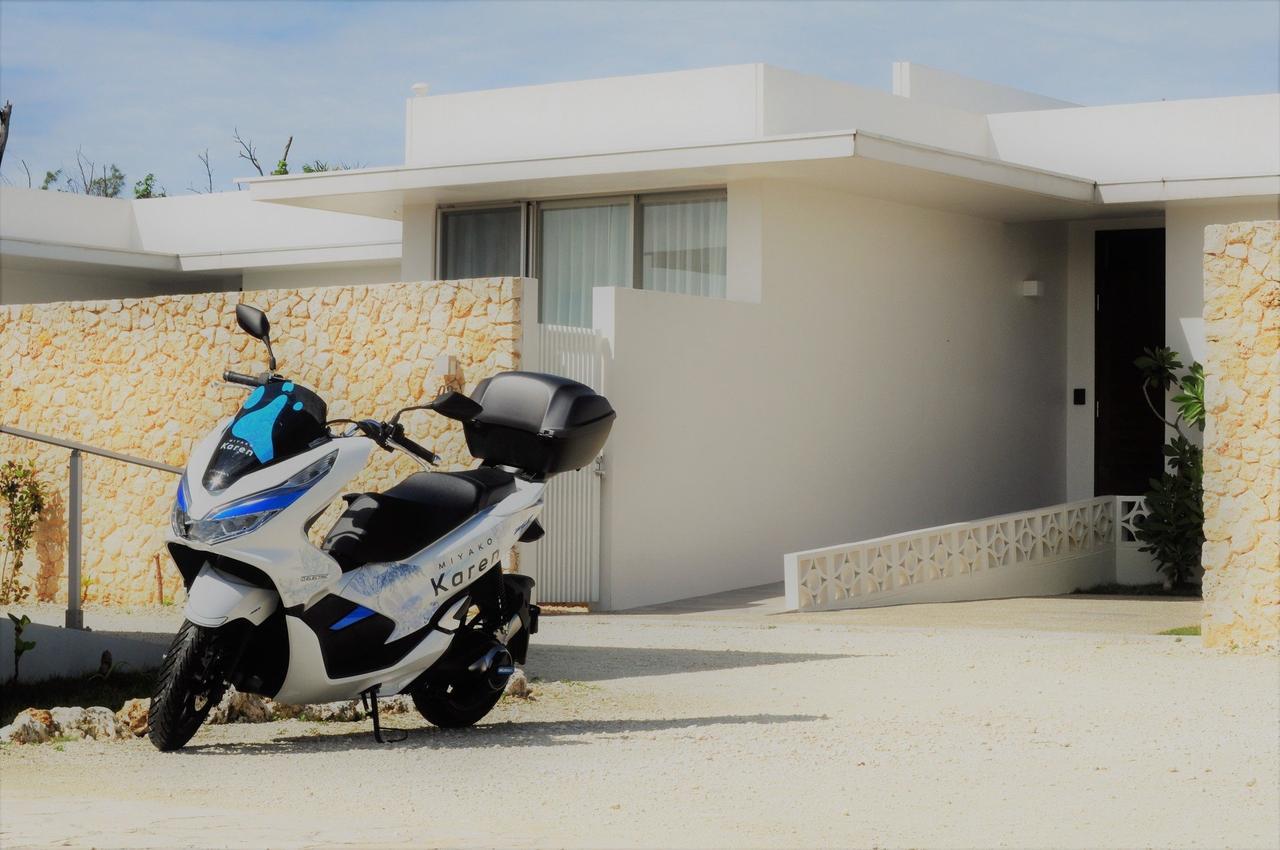 画像2: ホンダがソフトバンクと協業で宮古島でのPCX ELECTRICレンタルサービスを開始しました!