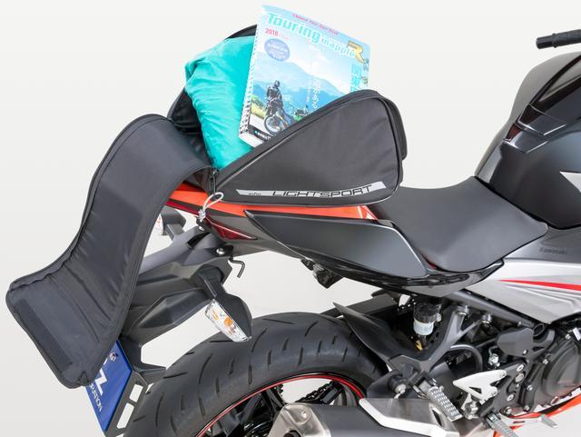 画像3: シンプルな設計で簡単も簡単! 初めてシートバッグを使う方にもおすすめ