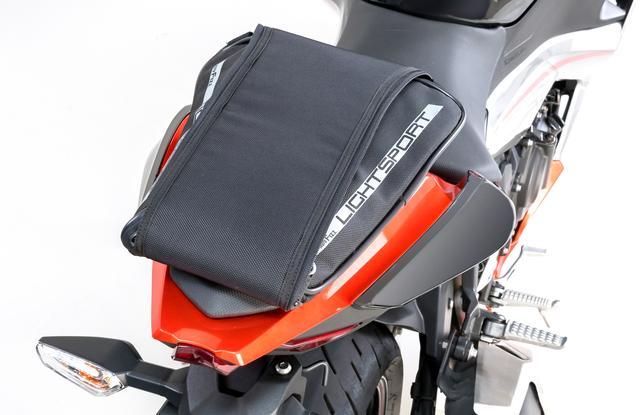 画像2: シンプルな設計で簡単も簡単! 初めてシートバッグを使う方にもおすすめ