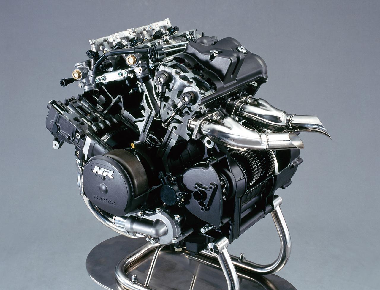 Images : 3番目の画像 - 「唯一無二の存在! 「楕円ピストン」V4エンジン搭載『HONDA NR』【名車図鑑】」のアルバム - webオートバイ