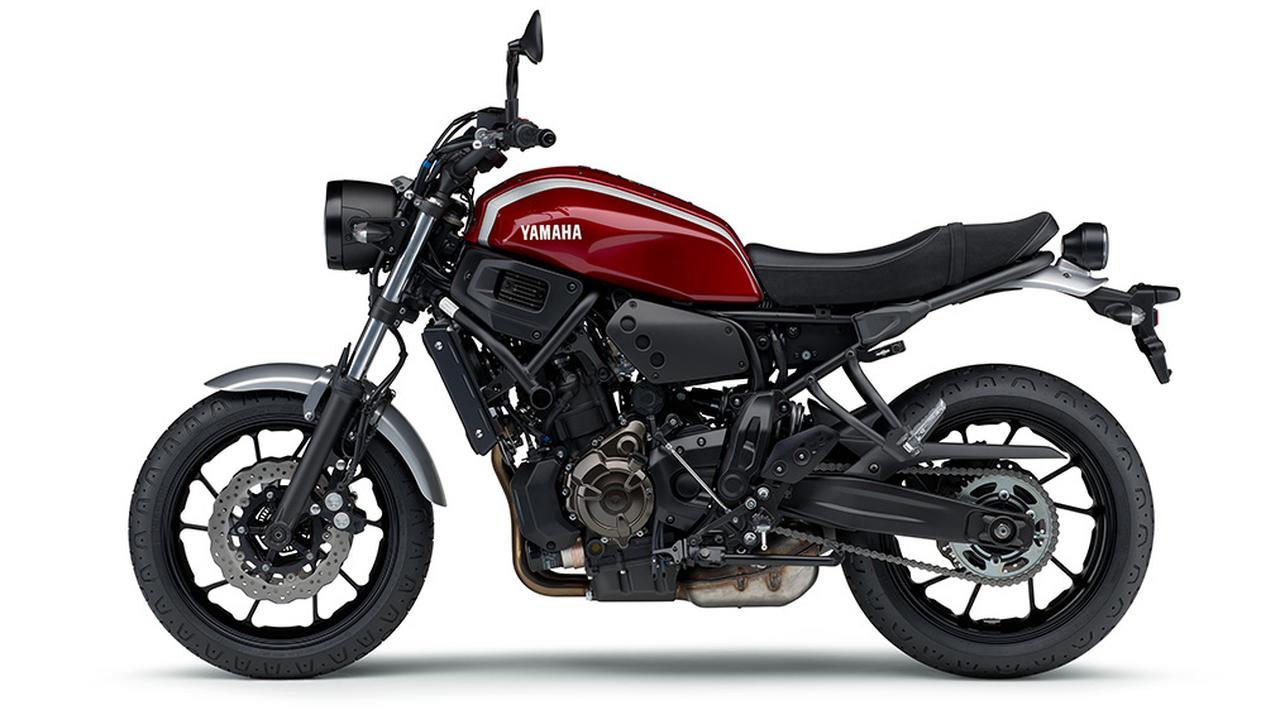 画像9: ヤマハ「XSR700 ABS」の2019年モデルは、新色のマットブルーを追加して3月28日リリース!