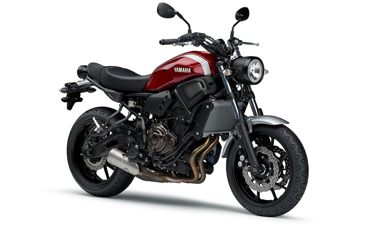 画像12: ヤマハ「XSR700 ABS」の2019年モデルは、新色のマットブルーを追加して3月28日リリース!
