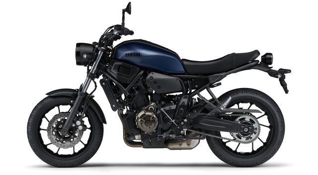 画像3: ヤマハ「XSR700 ABS」の2019年モデルは、新色のマットブルーを追加して3月28日リリース!