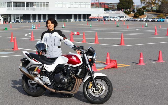 画像2: 「STEC Bike Only Day」にオートバイ女子部の新メンバー大林和恵さんが参加しました!