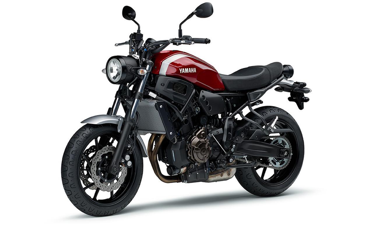 画像11: ヤマハ「XSR700 ABS」の2019年モデルは、新色のマットブルーを追加して3月28日リリース!