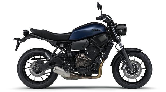 画像4: ヤマハ「XSR700 ABS」の2019年モデルは、新色のマットブルーを追加して3月28日リリース!