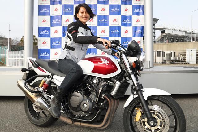 画像1: 「STEC Bike Only Day」にオートバイ女子部の新メンバー大林和恵さんが参加しました!