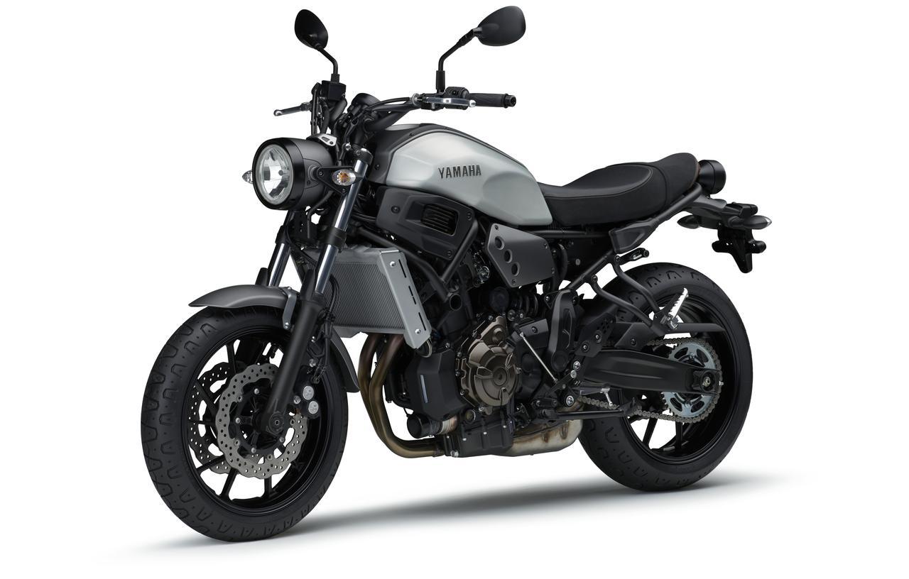 画像6: ヤマハ「XSR700 ABS」の2019年モデルは、新色のマットブルーを追加して3月28日リリース!