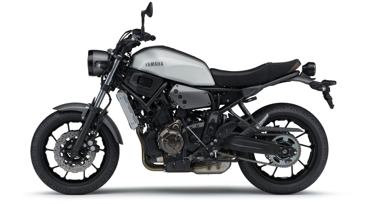 画像8: ヤマハ「XSR700 ABS」の2019年モデルは、新色のマットブルーを追加して3月28日リリース!