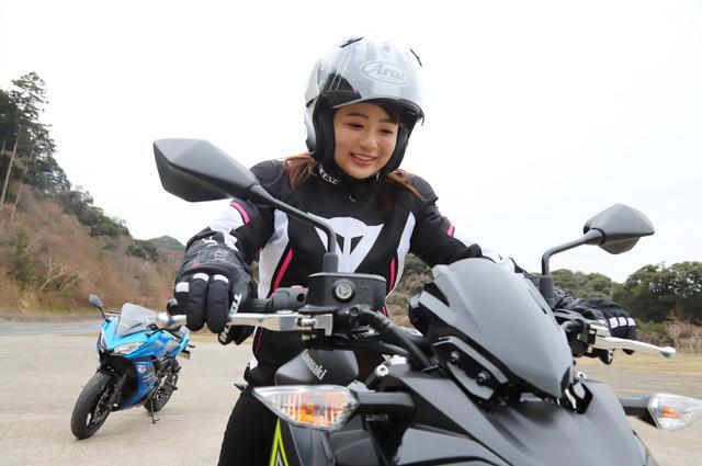 画像26: 平嶋夏海の「つま先メモリアル」 (第2回:KAWASAKI Z650、Ninja650)
