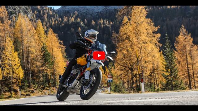 画像: Moto Guzzi V85 TT - official video youtu.be