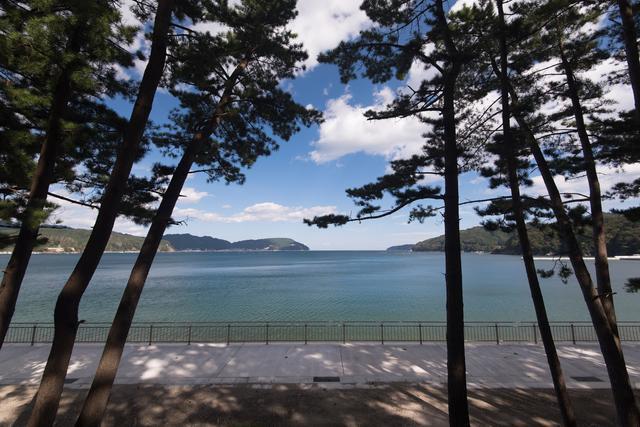 画像: 釜石市の景勝地「根浜海岸」。